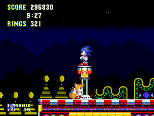 Sonic the Hedgehog 3 - glitch 2 - User Screenshot